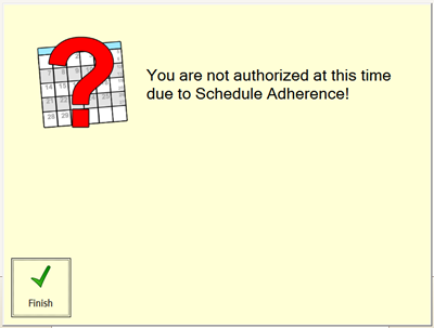 unable-to-check-in-sched-adhere
