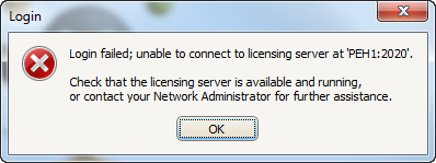 unable-to-connect-lic-serv