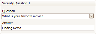 security-question-answer