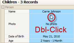 dbl-click-childs-name
