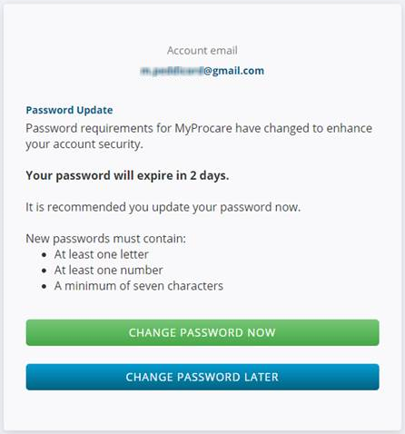 password doesnt meet minimum security requirements