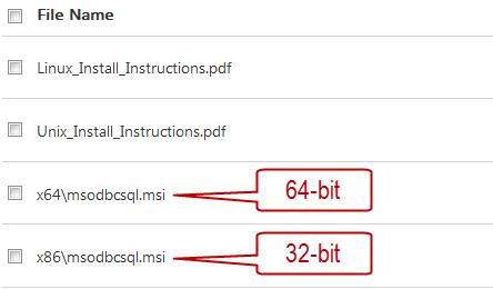 Sql Native Client Driver 64 Bit Download