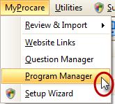 MyProcare Program Manager