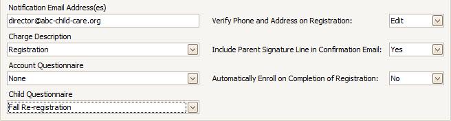 MyProcare: Setting Up Re-registration